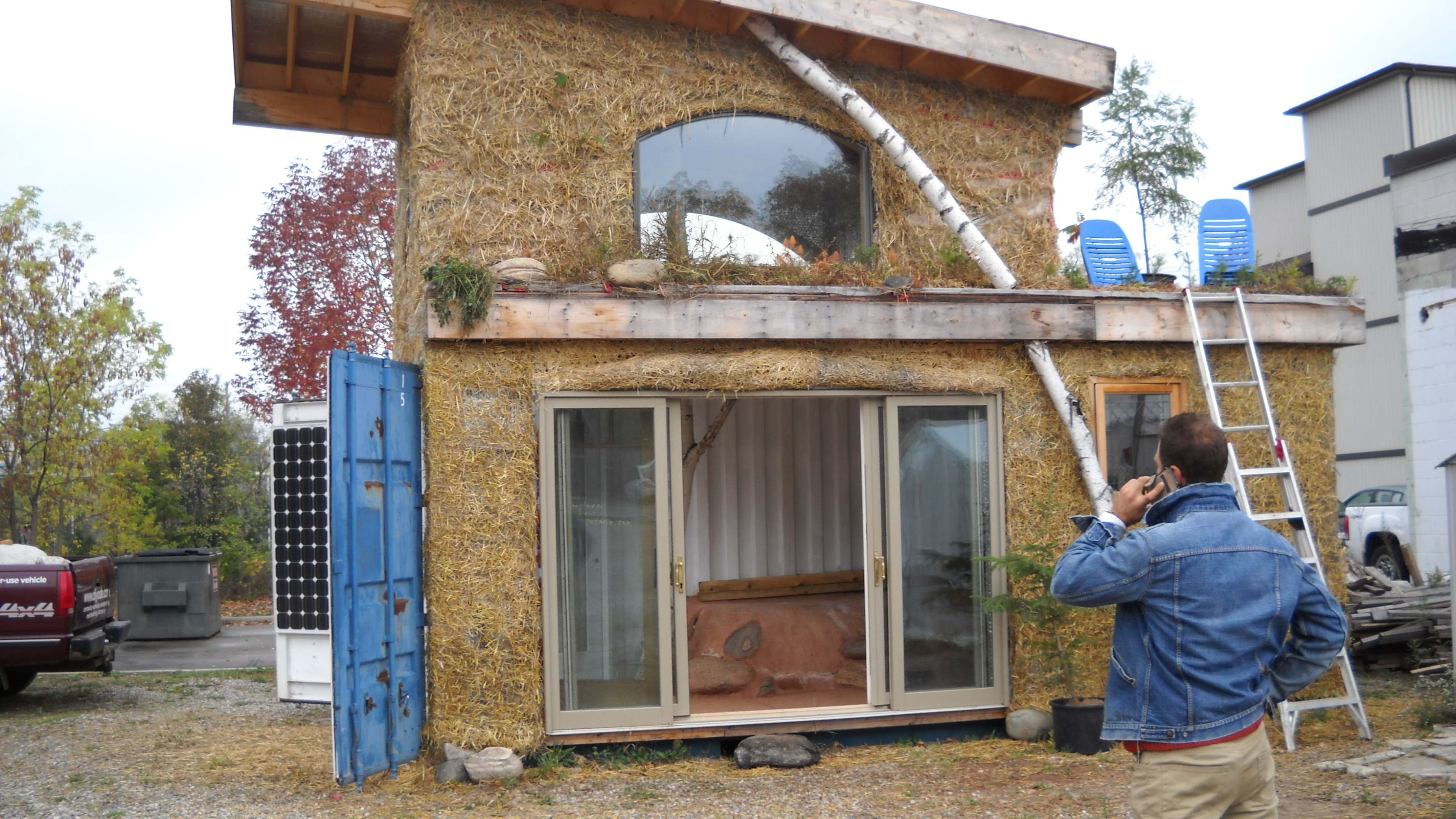 Sustainable Container House In Guelph, Ontario, Seeking New Home